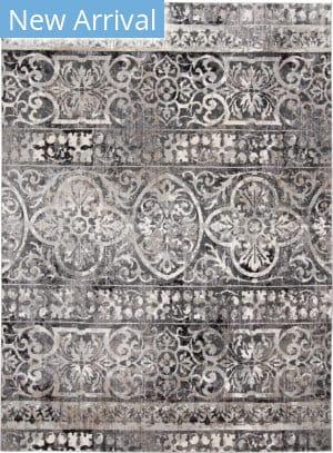 Feizy Kano 3871f Charcoal - Ivory Area Rug