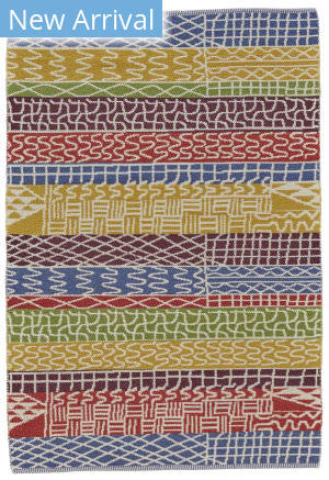 Feizy Bashia I0551 Red - Multi Area Rug