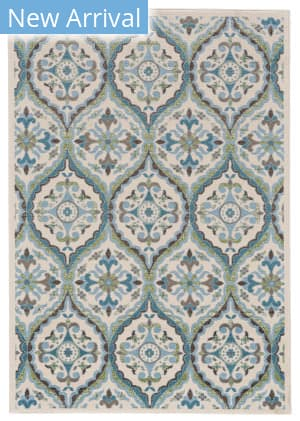 Feizy Burley I3259 Cotton - Turquoise Area Rug