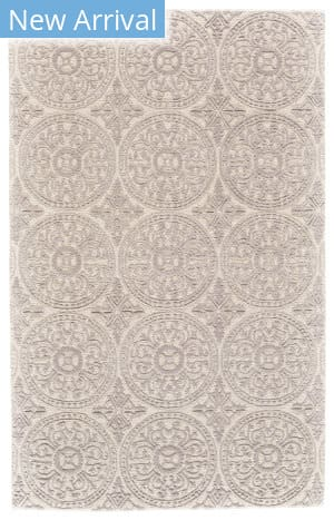 Feizy Branson 8751f Ivory - Light Gray Area Rug