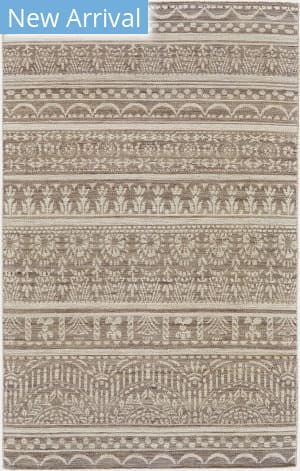 Feizy Leon 0125f Gray - White Area Rug