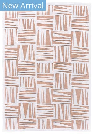 Feizy Soho Lyra I3095 White - Blush Area Rug