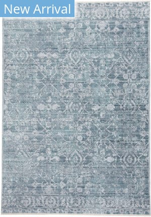 Feizy Cecily 3595f Blue - Turquoise Area Rug
