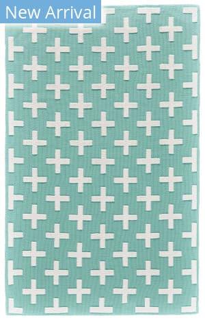 Feizy Aubrey I4801 Turquoise - White Area Rug