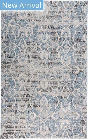 Feizy Ainsley 3901f Blue - Ivory Area Rug