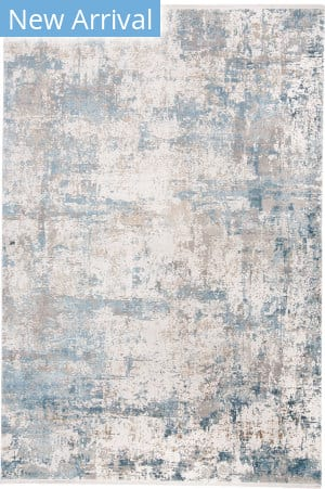 Feizy Cadiz 3891f Blue - Ivory Area Rug
