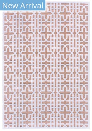 Feizy Soho Lyra I3096 White - Blush Area Rug