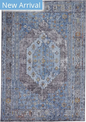 Feizy Armant 3912f Blue - Multi Area Rug