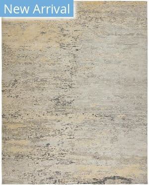 Hri Milan Mi-92 Gold - Blue Area Rug