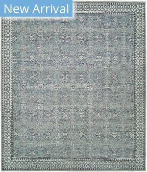 Hri Sabrina Sa-25 Blue - Ivory Area Rug