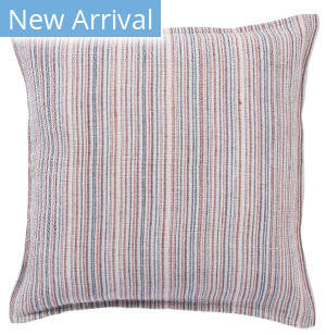Jaipur Living Burbank Pillow Taye Brb05 Red - Blue