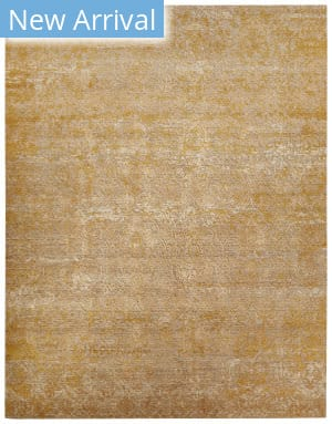 Jaipur Living Chaos Theory By Kavi Tir Ckv18 Tidal Foam - Bright Gold Area Rug