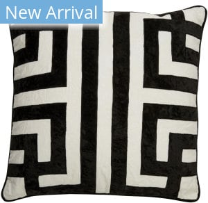Jaipur Living Cosmic By Nikki Chu Pillow Ordella Cnk08 White - Black Area Rug