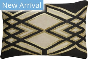 Jaipur Living Cosmic By Nikki Chu Pillow Akio Cnk11 Black - Beige Area Rug