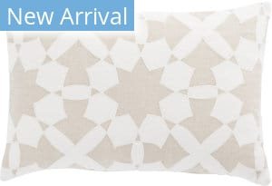 Jaipur Living Cosmic By Nikki Chu Pillow Casino Cnk47 White - Ivory