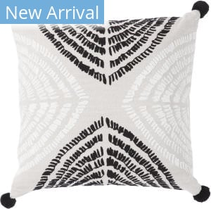 Jaipur Living Cosmic By Nikki Chu Pillow Angelika Cnk54 Black - Silver