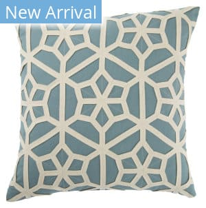 Jaipur Living Dante Pillow Dante Dnt06 Teal - Cream Area Rug