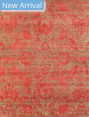 Jaipur Living Chaos Theory By Kavi Esk-624 Clay - Velvet Red Area Rug