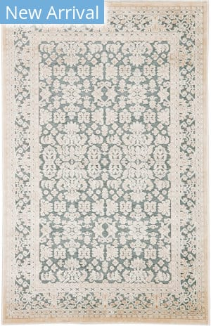 Jaipur Living Fables Regal Fb182 Teal - Ivory Area Rug