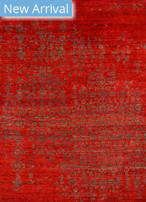Jaipur Living Geode Scroll Ge06 Rust - Burnt Olive Area Rug