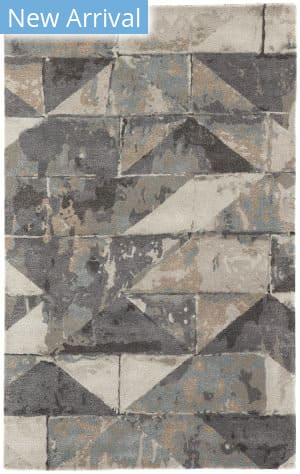 Jaipur Living Genesis Conde Ges23 Gray - Taupe Area Rug