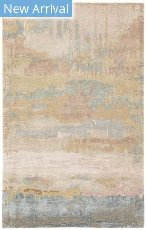 Jaipur Living Genesis Benna Ges28 Gold - Light Blue Area Rug