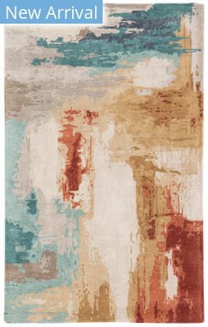 Jaipur Living Genesis Swisher Ges30 Blue - Red Area Rug