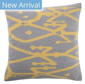 Jaipur Living En Casa By Luli Sanchez Pillow Mirja Lsc41 Gray - Yellow Area Rug