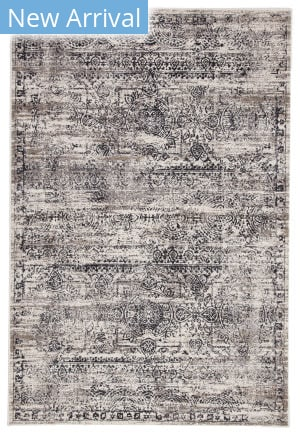 Jaipur Living Masonic Mellen Mac14 White - Gray Area Rug