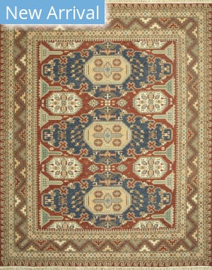 Jaipur Living One Of A Kind Makt-99 Navajo Red - Cocoa Brown Area Rug