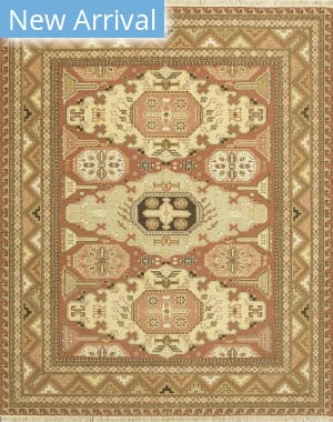 Jaipur Living One Of A Kind Makt-99 Red Ochre - Spice Brown Area Rug