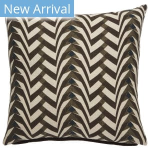 Jaipur Living National Geographic Home Collection Pillows Pillow Flock Ngp42 Brown - Cream Area Rug