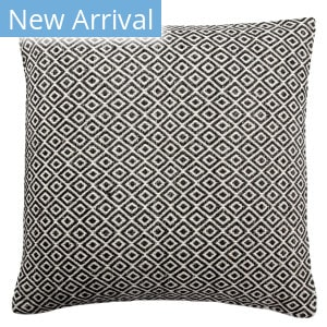 Jaipur Living Peykan Pillow Estes Pey05 White - Dark Gray Area Rug
