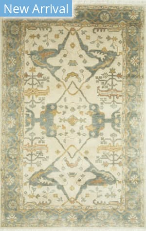 Jaipur Living One Of A Kind Pkwl-338 Cloud White - Seaside Blue Area Rug