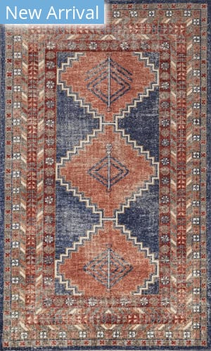 Jaipur Living One Of A Kind Pkwl-467 Medieval Blue - Soft Coral Area Rug