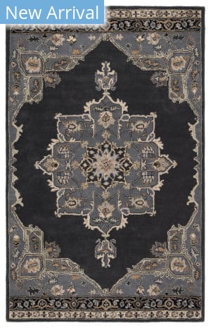 Rugstudio Sample Sale 169913R Ebony - Castle Rock Area Rug