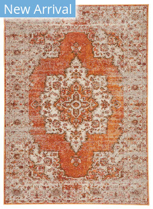 Jaipur Living Peridot Sontag Prd07 Orange - Brown Area Rug