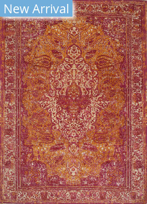 Jaipur Living Free Verse By Kavi Pala Qm-901 Sunset - Oyster Area Rug