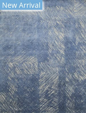 Jaipur Living Free Verse By Kavi Sphere Qm-951 Oyster Grey - Cornflower Blue Area Rug