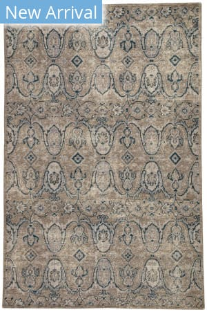 Rugstudio Sample Sale 181558R Gray - Navy Area Rug