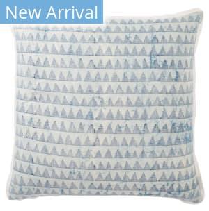 Jaipur Living Revolve Pillow Yonah Rov02 Blue - White