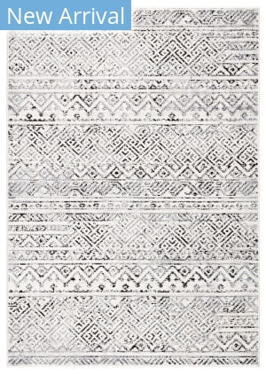 Jaipur Living Solstice Tamsin Sol04 White - Black Area Rug