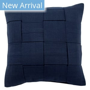 Jaipur Living Tabby Pillow Merrin Tab01 Navy Area Rug