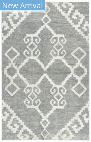 Kaleen Solitaire Sol12-75 Grey Area Rug