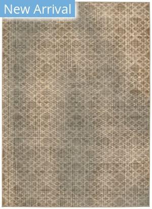 Karastan Titanium Ravello Grey - Light Beige Area Rug