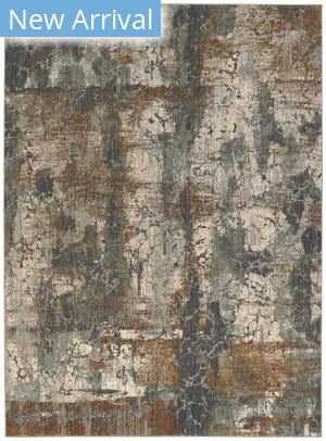 Karastan Elements Cave Creek Oyster - Gray Area Rug