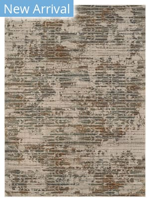 Karastan Elements Dawson Springs Oyster - Gray Area Rug