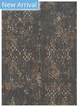 Karastan Elements Eastmont Denim - Gunmetal Area Rug