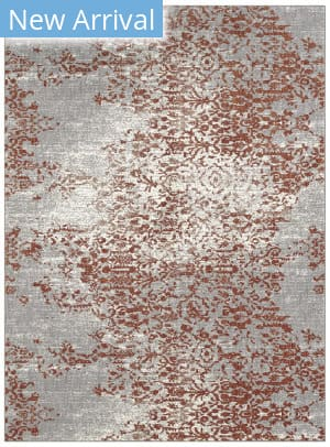 Karastan Soiree Nirvana Grey - Alabaster Area Rug