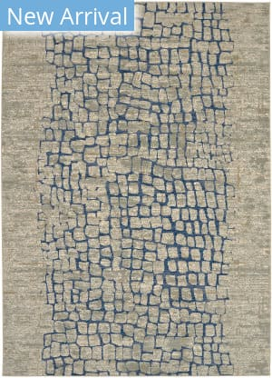 Karastan Tempest Calle Willow Grey - Natural Cotton Area Rug